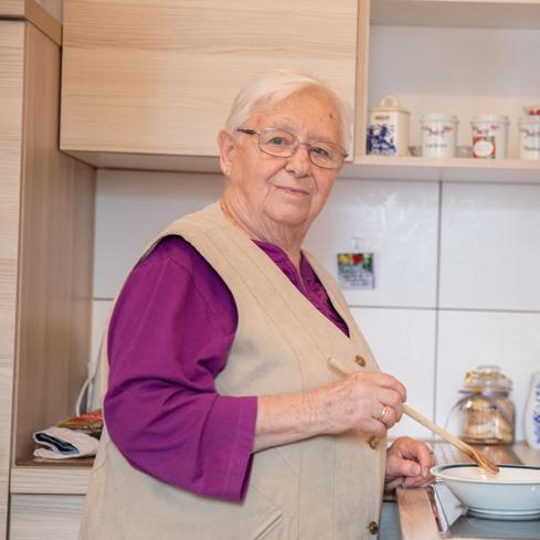 Als Pflegebedürftiger weiter  selbstständig leben – <span>in unserer Wohnanlage</span>